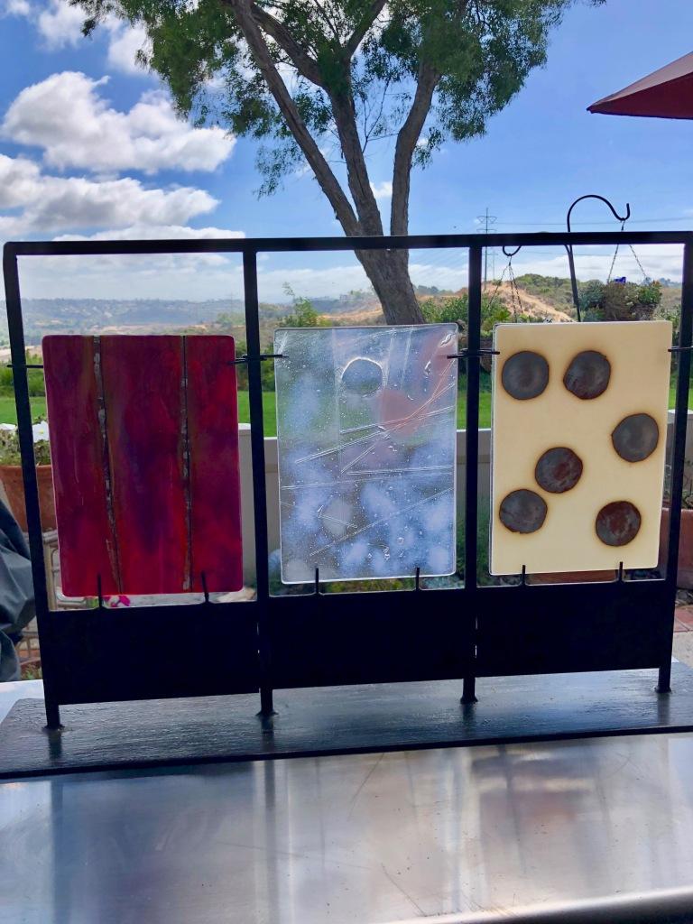 Wood, Glass, Metal